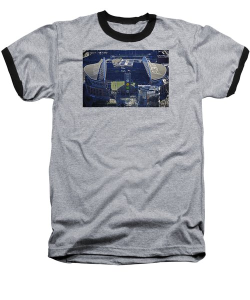 Baseball T-Shirt featuring the photograph Seahawk Stadium by Jack Moskovita