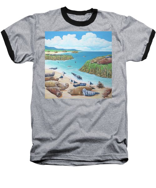 Seal Sanctuary  Baseball T-Shirt