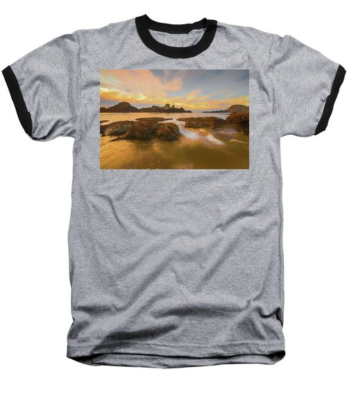 Seal Rock Sunset Baseball T-Shirt