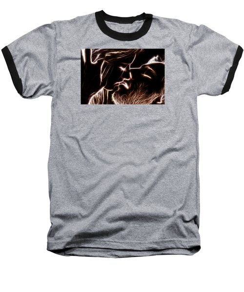 Baseball T-Shirt featuring the digital art Sealed With A Kiss by Stephen Younts