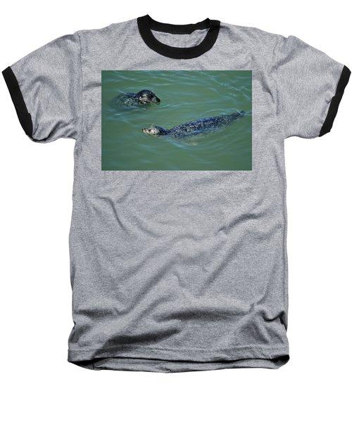 Sealion Friends Baseball T-Shirt