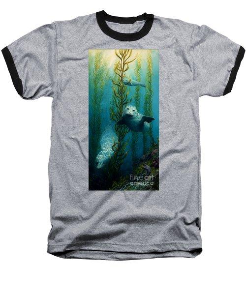 Seals Of The Sea Baseball T-Shirt