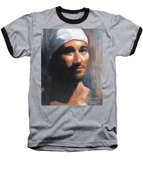 Sean Baseball T-Shirt by Diane Daigle