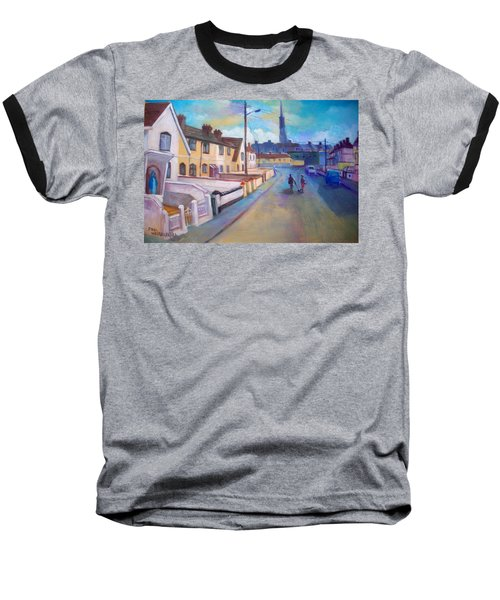 Sean Hueston Place Limerick Ireland Baseball T-Shirt by Paul Weerasekera