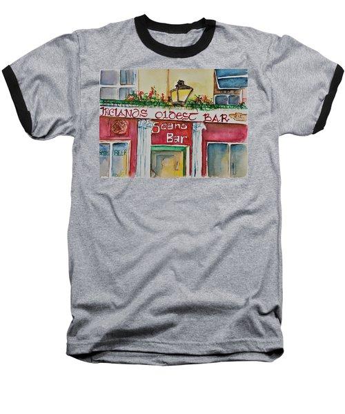 Seans Irish Pub Baseball T-Shirt