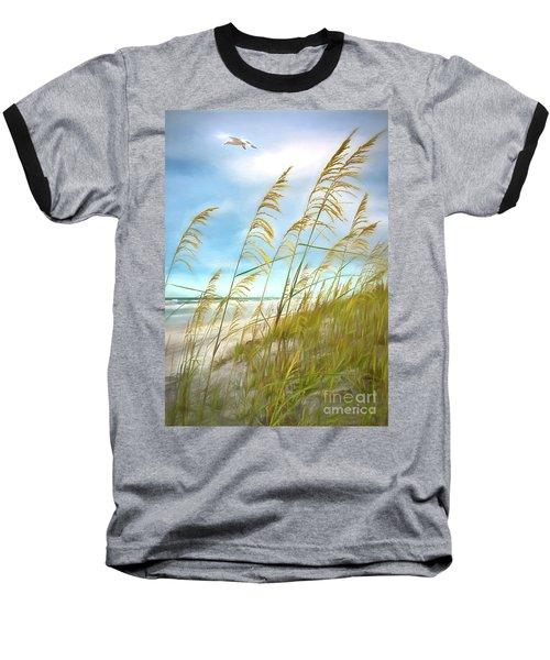 Seaoats Fantasy Baseball T-Shirt by Linda Olsen