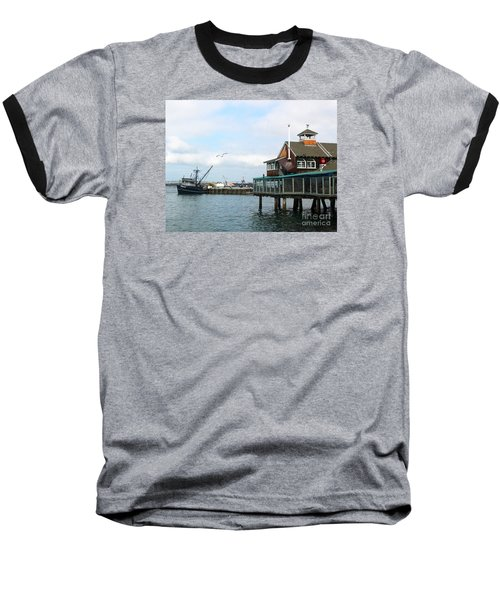 Seaport Village San Diego-2 Baseball T-Shirt
