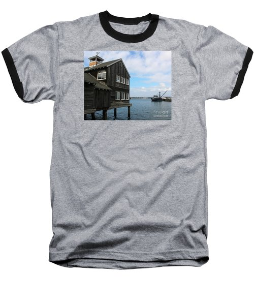 Baseball T-Shirt featuring the photograph Seaport Village San Diego by Cheryl Del Toro