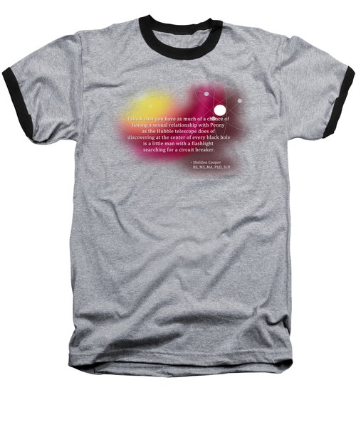 Searching For A Circuit Breaker Baseball T-Shirt by Paulette B Wright
