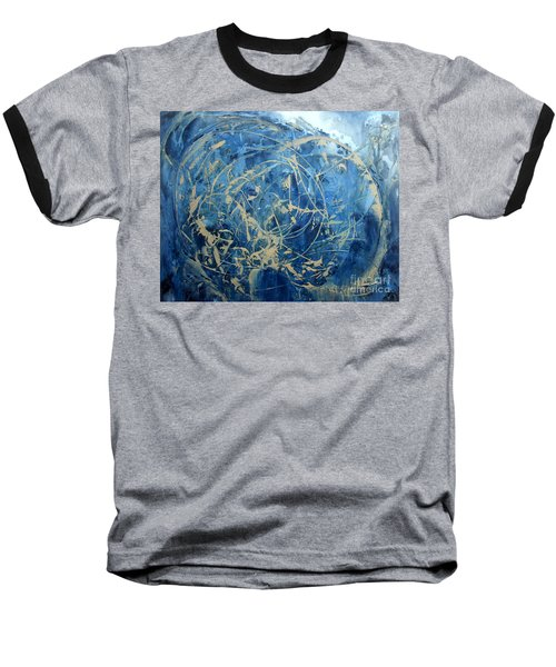 Searching Baseball T-Shirt by Valerie Travers
