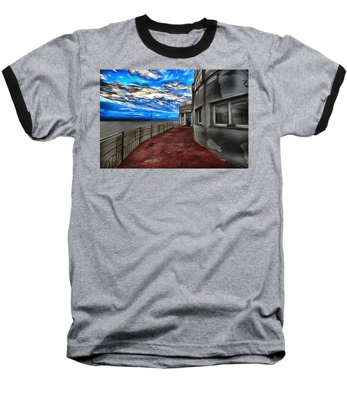 Seascape Atmosphere - Atmosfera Di Mare Dig Paint Version Baseball T-Shirt