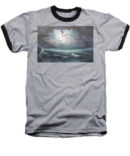 Moonlit  Baseball T-Shirt
