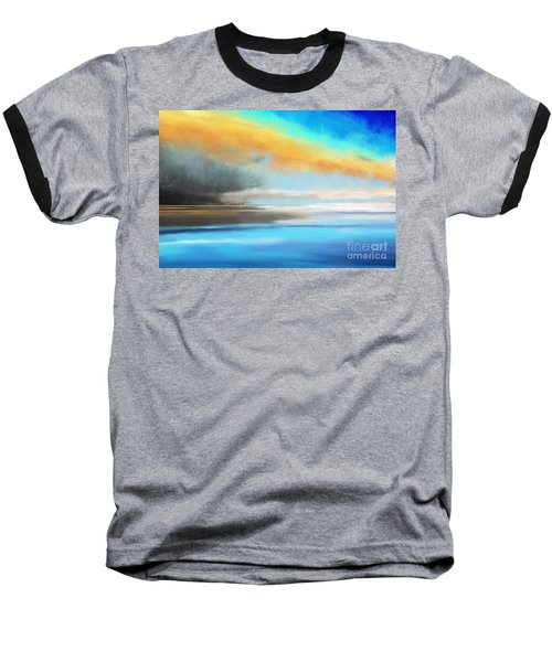 Seascape Painting Baseball T-Shirt