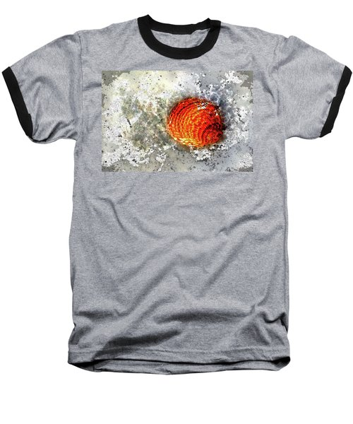 Seashell Art  Baseball T-Shirt