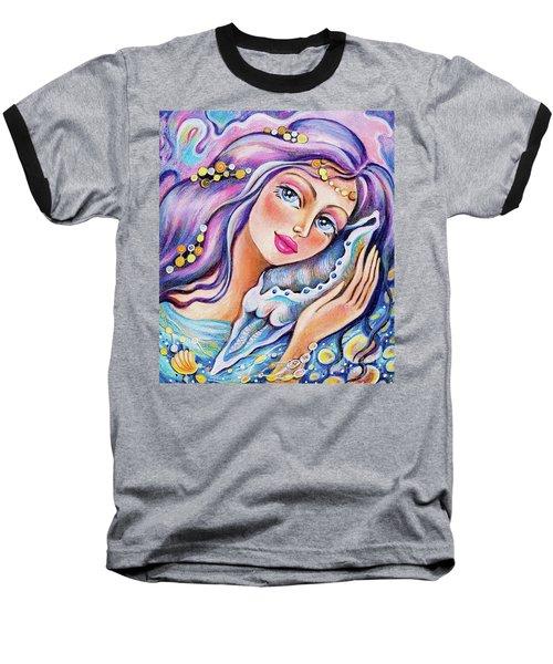 Seashell Reverie Baseball T-Shirt