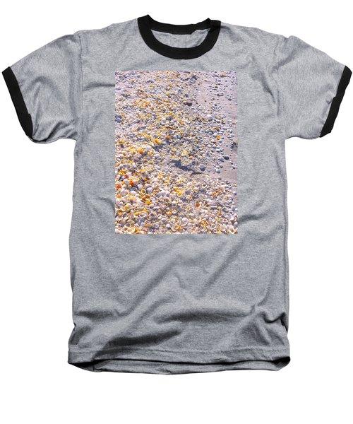 Seashells In Sanibel Island, Florida Baseball T-Shirt