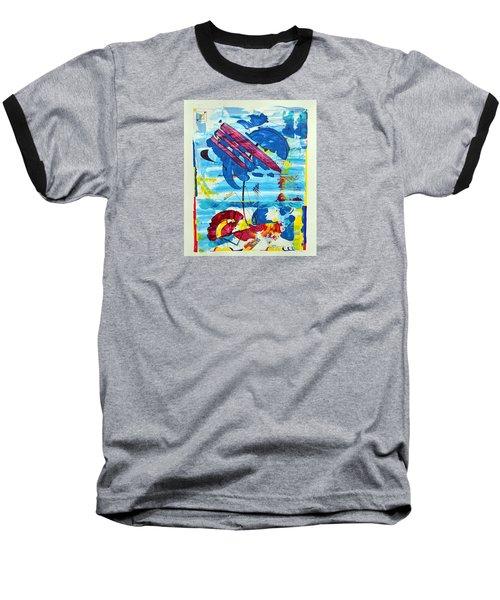 Seashore Holiday Baseball T-Shirt