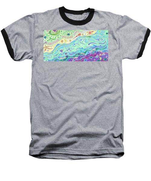Seashore Baseball T-Shirt