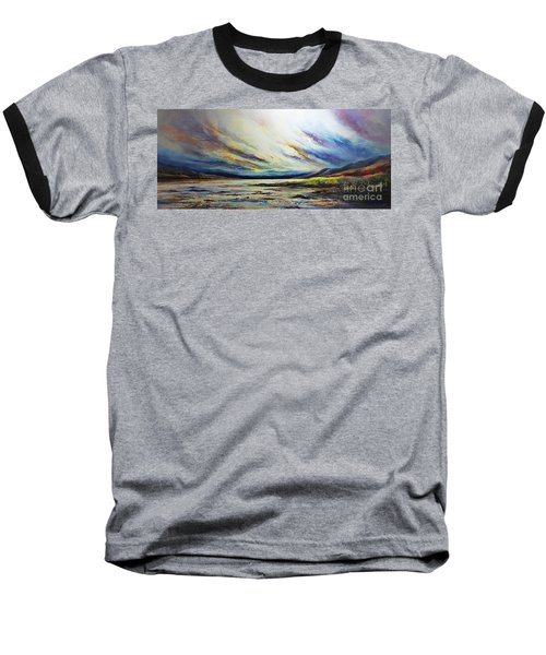 Seaside Baseball T-Shirt by AmaS Art