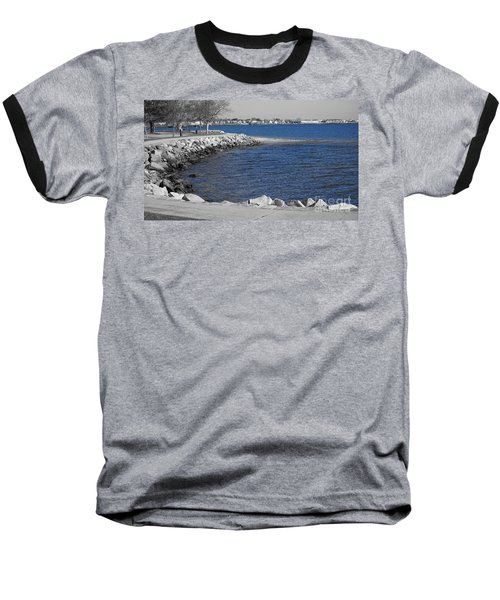 Seaside Blue Baseball T-Shirt