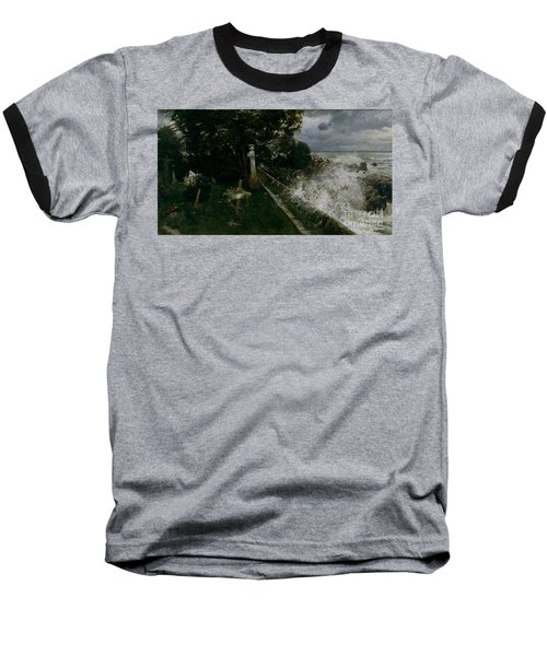 Seaside Cemetery Baseball T-Shirt