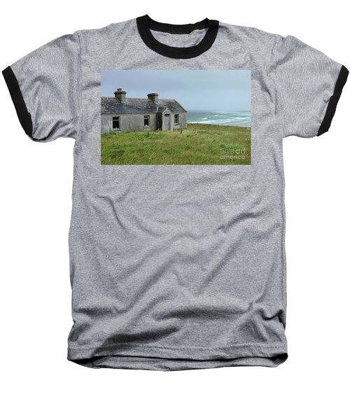Seaside Cottage Belmullet Baseball T-Shirt