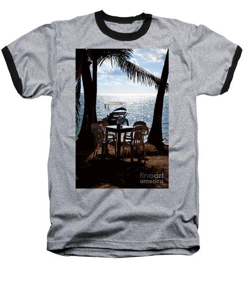 Seaside Dining Baseball T-Shirt
