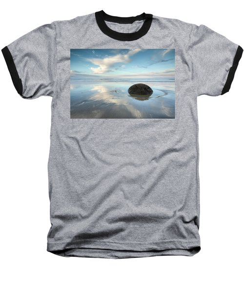 Seaside Dreaming Baseball T-Shirt by Brad Grove