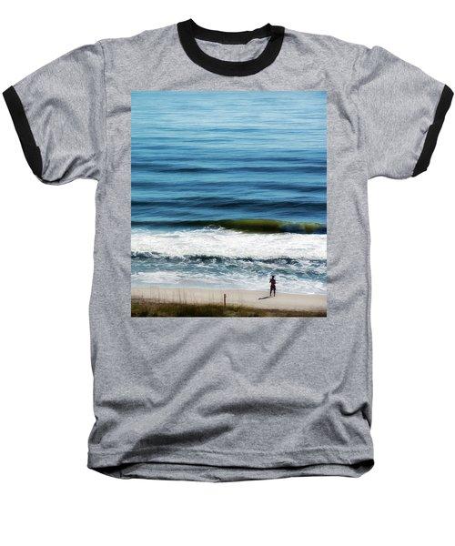 Seaside Fisherman Baseball T-Shirt