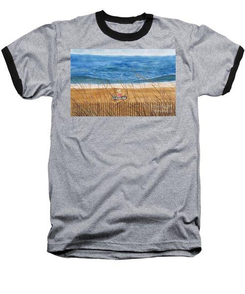 Seaside In Massachusetts Baseball T-Shirt