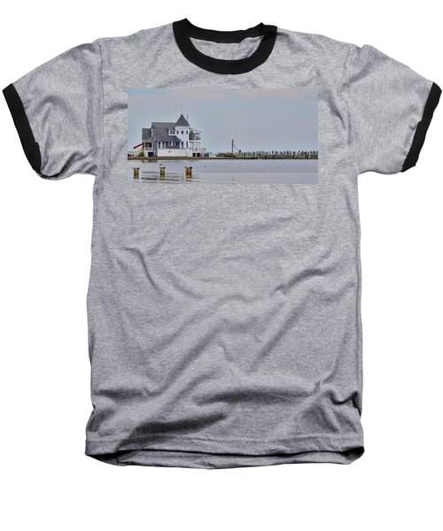 Baseball T-Shirt featuring the photograph Seaside Park Yacht Club by Sami Martin