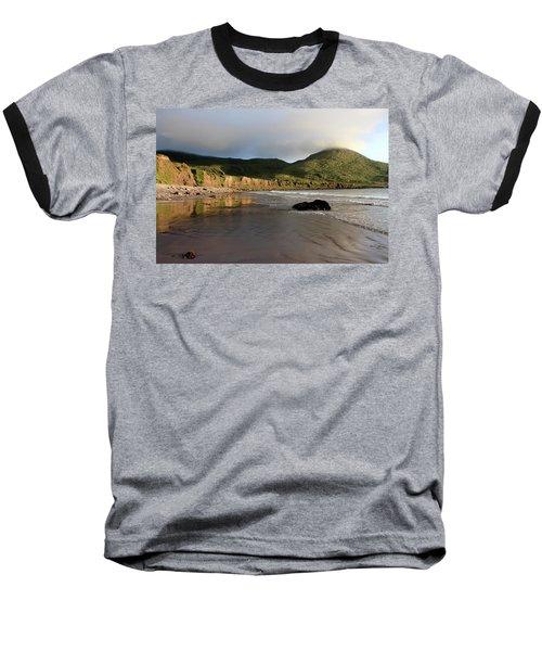Seaside Reflections - County Kerry - Ireland Baseball T-Shirt by Aidan Moran