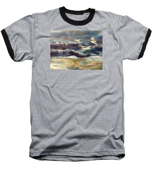 Seaside Serenade Baseball T-Shirt