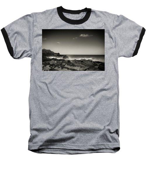 Seaside Solitude Baseball T-Shirt