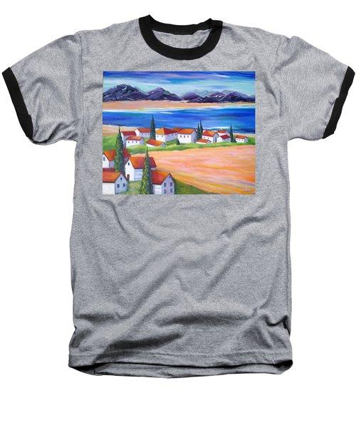 Seaside Village Baseball T-Shirt