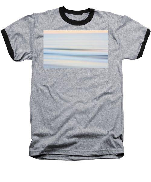 Seaside Waves  Baseball T-Shirt by Glenn Gemmell