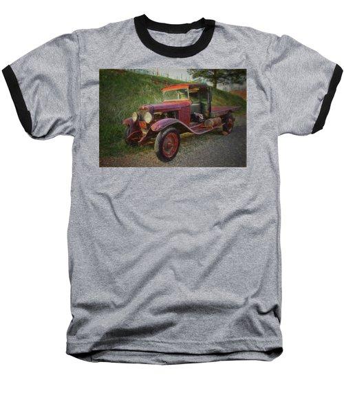 Seasoned Ol' Truck Baseball T-Shirt