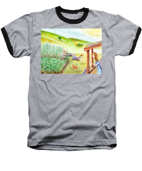 Seasons First Tomatoes Baseball T-Shirt