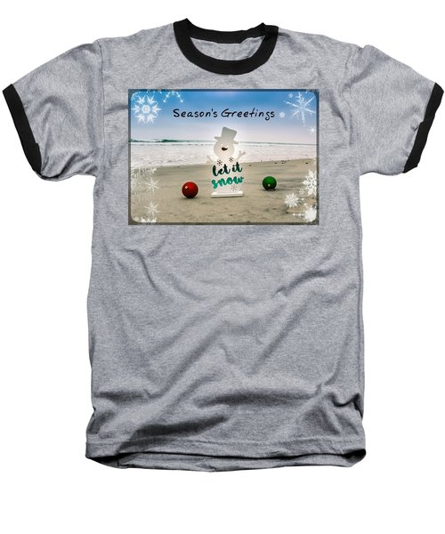 Season's Greetings Baseball T-Shirt