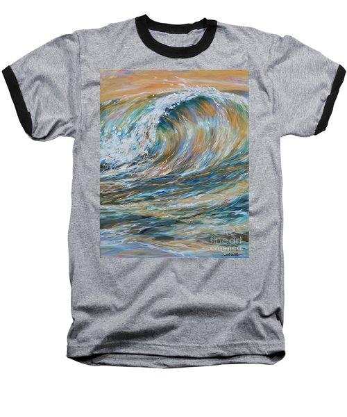 Seaspray Gold Baseball T-Shirt
