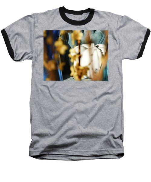 Seated Pumpkin -  Baseball T-Shirt