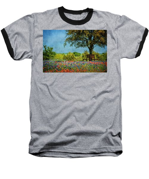 Baseball T-Shirt featuring the photograph Seating For Two by Ken Smith