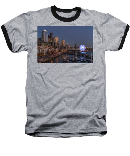 Seattle Autumn Nights Baseball T-Shirt