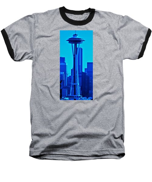 Seattle Blue Baseball T-Shirt
