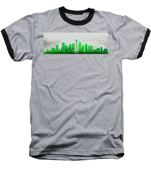 Seattle Greens Baseball T-Shirt
