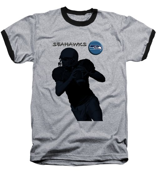 Seattle Seahawks Football Baseball T-Shirt