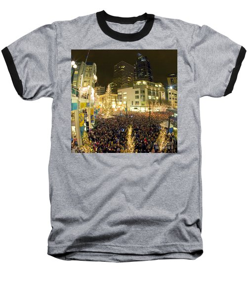 Seattle Westlake Tree Lighting Baseball T-Shirt