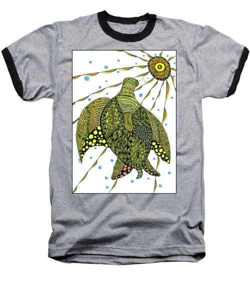 Seaturtle  Baseball T-Shirt