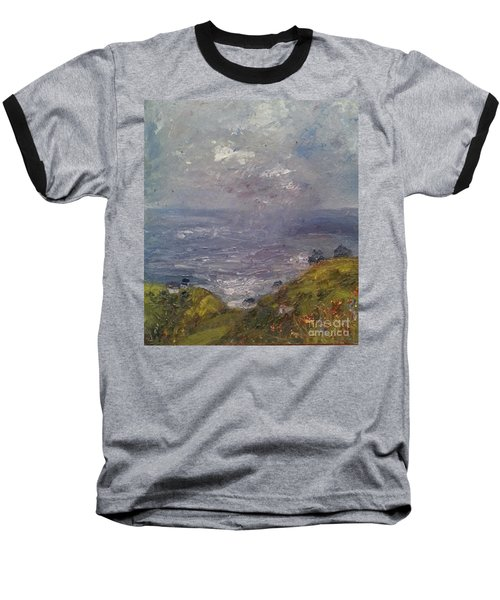 Seaview Baseball T-Shirt by Genevieve Brown