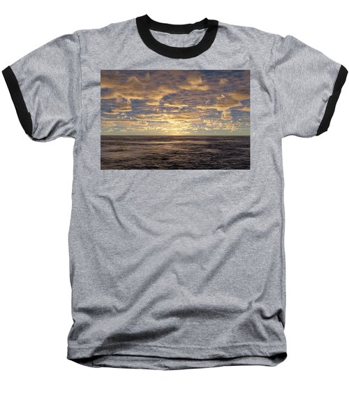 Baseball T-Shirt featuring the photograph Seaview by Mark Greenberg